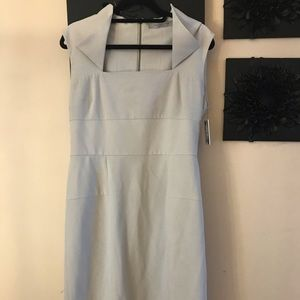 Stone colored Marc New York sheath dress